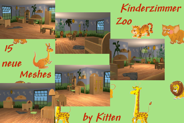 Die sims downloads community for Kinderzimmer zoo