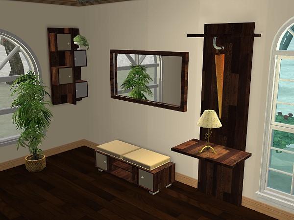 garderobe selber bauen schoner wohnen inspiration ber haus design. Black Bedroom Furniture Sets. Home Design Ideas